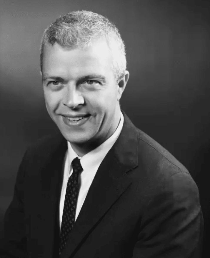 The official NASA photo of John Houbolt.
