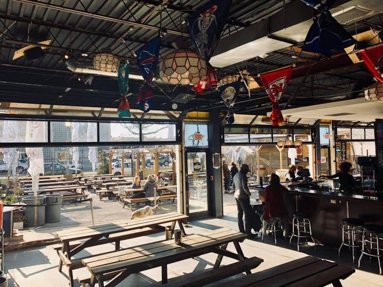 The Midland' patio