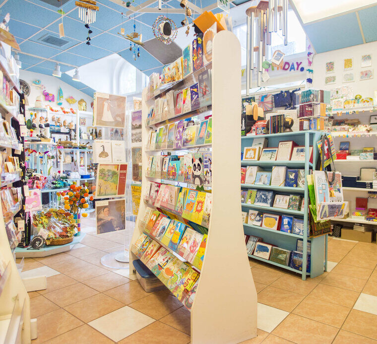 Inside the Store at Bliss of the Beyond